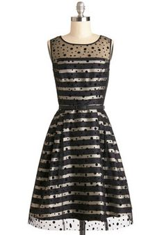 I want a party dress... and a party to go to. Spotted on the Scene Dress, #ModCloth