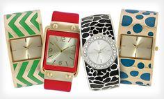 Women's Geneva Bangle Watch