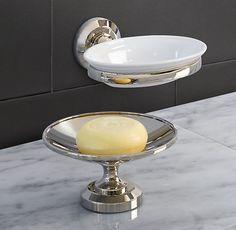 Lugarno Soap Dish  Wall mount  Polished Chrome  59.