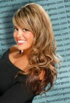 Layered Haircuts For Long Thick Hair   Long layered hairstyles for thick hair with bangs