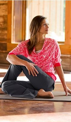Athleta Yoga Outfit...Don't do yoga, but I'd wear this comfy outfit!