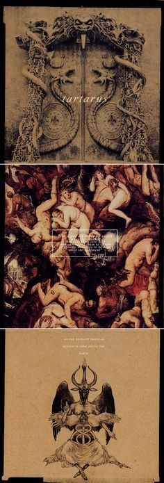 mythology alphabet: t - tartarus [(Greek: Τάρταρος)], in ancient Greek mythology, is the deep abyss that is used as a dungeon of torment and suffering for the wicked and as the prison for the Titans. As far below Hades as the earth is below the heavens, Tartarus is the place where souls were judged after death and where the wicked received punishment. #myth