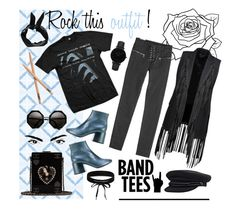 """Rock this outfit"" by gretawhistling on Polyvore featuring moda, Zoe Karssen, MM6 Maison Margiela, Alexander Wang, Boohoo, Chanel e CLUSE"
