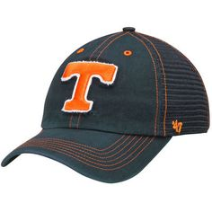 best service 4a48c 2de79 Tennessee Volunteers  47 Brand Flexbone Closer Flex Hat - Navy