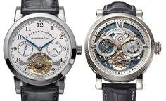 Grieb & Benzinger Blue Merit Customized A. Lange & Sohne Tourbillon Pour le Merite Watch   watch releases