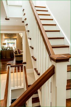 Aubrey House Staircase Timber Handrail, Stair Spindles, Banisters, House Staircase, Newel Posts, Glass Panels, Stairways, Case Study, New Homes
