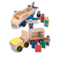 The Melissa & Doug Wooden Airport play set is sure to get your little one's in the Summer spirit!