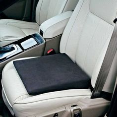 Slimline Wedge for cars works by levelling the seat in your car and allows you to achieve a comfortable position whilst driving. Made from memory foam. Knee Pillow, Car Chair, Bedroom Seating, Muscle Tension, Adjustable Beds, Memory Foam, Car Seats, Wedges, Cars