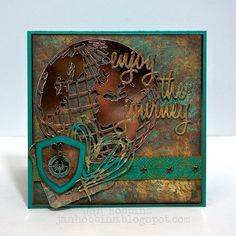Sizzix Inspiration | Enjoy the Journey Card by Jan Hobbins