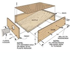 Handy Pegboard Projects | Woodsmith Tips   sanding table