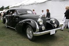 Bugatti Type 57 Paul Née Pillarless Coupe (Chassis 57397 - 2006 Pebble Beach Concours d'Elegance) High Resolution Image