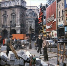 1973, Picadilly Circus--the very same year I was here.