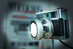 vintage lamp camera DIY by nik davids