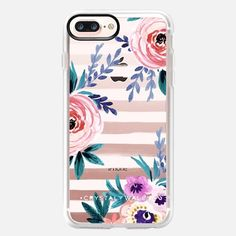 Buy Victoria_Flower-soft-blushing-clear iPhone 8 Plus Classic Grip Case by Crystal Walen at Casetify. Ipod Touch Cases, Ipod Cases, Laptop Cases, Cute Iphone 7 Cases, Iphone Case Covers, Coque Ipod, Ipod Touch 6th Generation, Apple Watch Models, Iphone Se