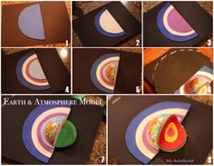 Layers of the Earth & Atmosphere Model