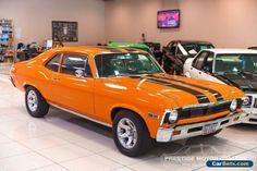 1968 Chevrolet Nova SS Orange Automatic A Coupe #chevrolet #nova #forsale #australia