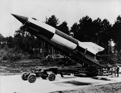The German Aggregat-4 rocket is better known by the name V-2, short for Vergeltungswaffe (Retaliation Weapon) 2. Deployed in the last year of World War II, it was the world's first long-range ballistic missile and the first human-made object to travel into space.