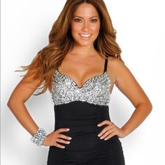 Black clubbing dress Wear once . Nasty Gal Dresses Mini