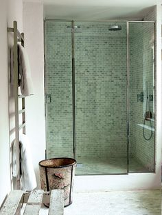 ducha de obra en casa de la decoradora isabel lpezquesada por montse cuesta