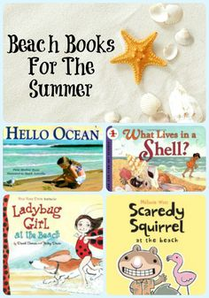 20 Best Books About Beaches for Children | The Jenny Evolution
