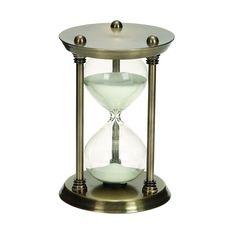 Metal/Glass 30 Minutes Hourglass Half Hour Nautical Ship Sand Timer