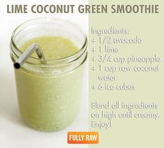 Great summertime smoothie!