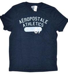 Aeropostale  Casual Cotton T Shirt  Color Black Size XL $12.95