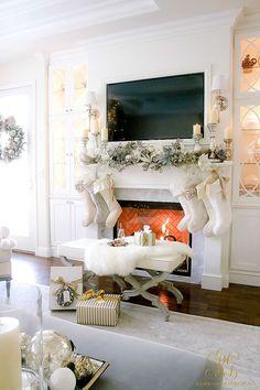 Christmas Cookie Exchange Tour - Gingerbread Cookies with Citrus Frosting - Randi Garrett Design
