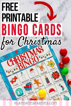 Free Printable Christmas Bingo Cards for Kids This set of colorful free printable Christmas bingo cards is a fun way for kids to celebrate the holiday season. With both pictures and words, it's Christmas Bingo Printable, Christmas Bingo Cards, Christmas Party Games For Kids, School Christmas Party, Christmas Fun, Holiday Parties, Pictures Of Christmas, Christmas Games For Preschoolers, Christmas Plays For Kids