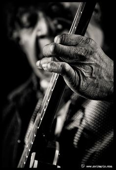 Eddie Kirland, Blues Guitar, photo by Manuel Vicario.