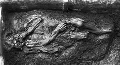 Several bog bodies were found in Borremose in Himmerland, including this woman who ended up in the bog in the Pre-Roman Iron Age. Post Classical History, Prehistoric Period, Bog Body, Post Mortem Photography, Iron Age, Prehistory, History Facts, National Museum, History
