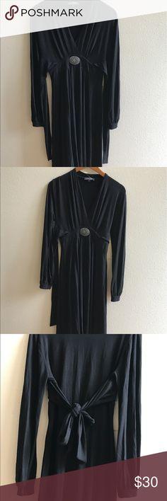 Vertigo Paris Black Long Sleeve Dress - new! Vertigo Paris Black Long Sleeve Dress - new! Vertigo Paris Dresses Long Sleeve