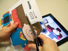 Comieco Foldify – l'app per creare paper toys