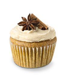 Sugar & Spice White Chocolate Cupcakes