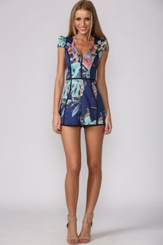 HelloMolly | Malibu Playsuit - Dresses