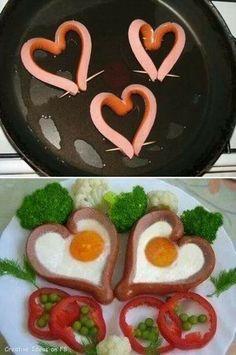 Cena romantica para san valentin