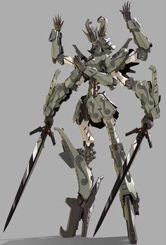 蜂蜜戦記ZZ [3] Character Concept, Character Art, Character Design, Japanese Robot, Gundam Wallpapers, Cool Robots, Robot Girl, Robot Concept Art, New Gods