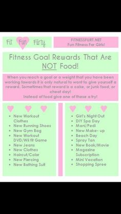 Fitness rewards