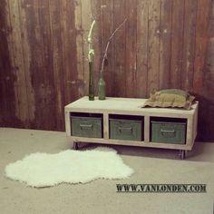 Tv meubel / Salontafel van steigerhout