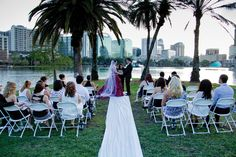 Lake Eola Wedding - Great spot in the Heart of Downtown to wed.  www.classernstringquartet.com