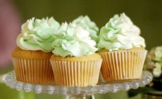 These Wasabi and White Chocolate Cupcakes are Bursting with Sweet Heat #desserts trendhunter.com