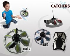 ET might have gone home but not to worry.  Grab an amazing flying remote control UFO for $28 from Catchers.  Choose from green, red or blue colour.