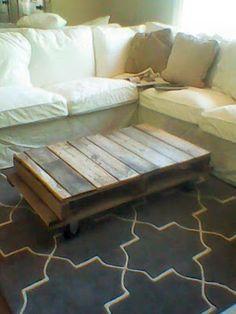 Little Vintage Cottage: Pallet Coffee Table
