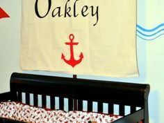 CUSTOM Pirate Sail — Personalized with Initial | Geek-a-bye Baby