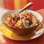 Sausage and Bean Ragù on Quinoa Macaroni Recipe | MyRecipes.com
