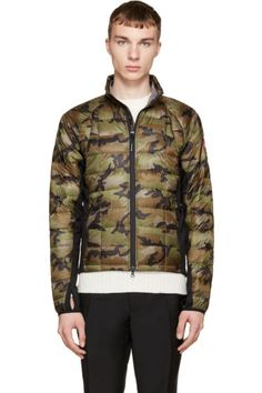 Green Camo Hybridge, Canada Goose - This one is getting a lot of attention. The hybridge collection is top nodge, and the new styles Canada Goose is coming up with camo´s are interesting.