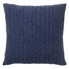 Pottery Barn Honeycomb Pillow Cover ($30) via Polyvore featuring home, home decor, throw pillows, cotton throw pillows, pottery barn, pottery barn throw pillows and textured throw pillows