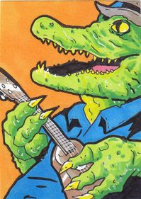 Ukulele Jim: Fretting The Small Stuff by Jim Clark » More hand-painted art cards available! — Kickstarter