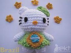 Hello Kitty Brazil - Tutorial