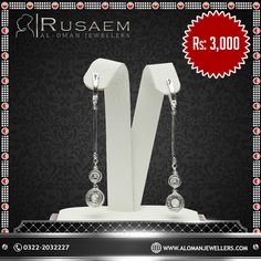 Crafted to utmost perfection  Product: Earrings http://www.alomanjewellers.com/product-category/earrings  100% Pure 925 Silver. Free Repolish After 1 Year. 3days Money Back Policy.  Address: Al Oman Jewellers Ocean Mall, 2nd Floor Opp Nishat Linen Karachi, Pakistan Phone: 021 35166640 Email: Info@Alomanjewellers.Com  #AlOmanJewellers #Jewellry #ExclusiveJewellry#Rings #Bracelets #Lockets #Tops #BridalSets#FittedRings #JewellryDesigns #Remanufacturing#Remodeling #Specialoffers